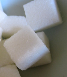 Photograph of Henry Tate's convenient sugar 'cube'