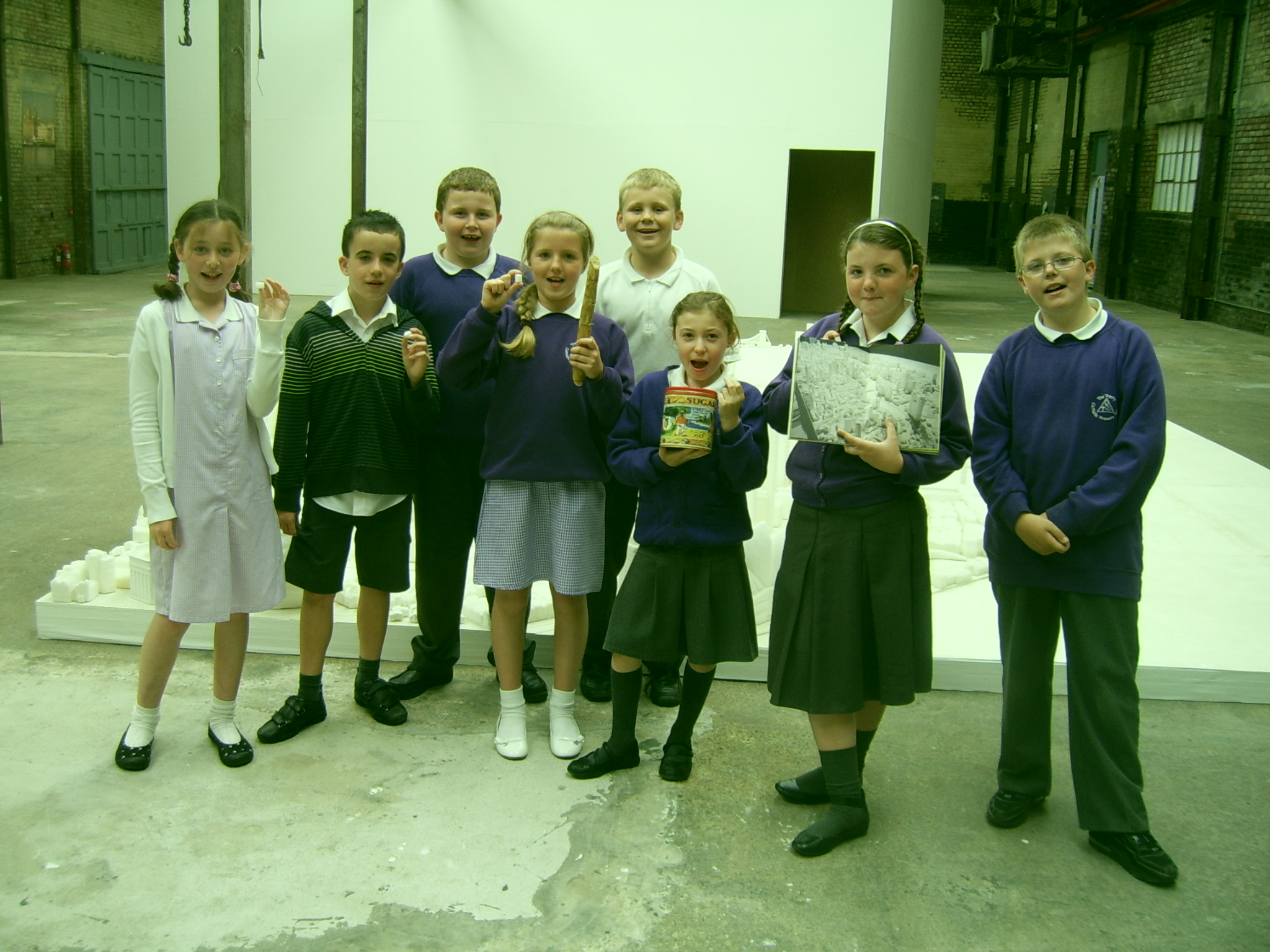 Trinity kids in August 2008