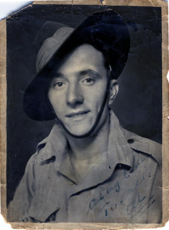 Albert in  1945